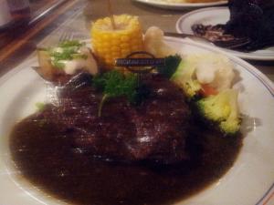 VS signature Black pepper steak